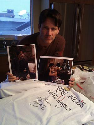 Stephen Moyer Movember Auction: King Bill's loyal Subject T-shirt