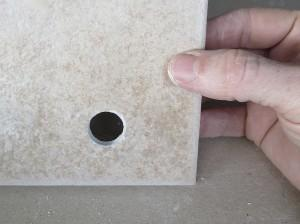 how to drill a hole in a tile
