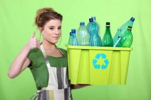 recycle and clean green