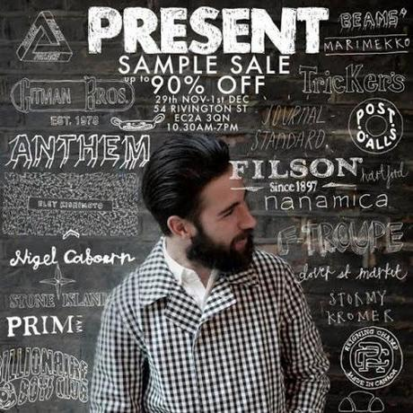 Present London Sample Sale - Paperblog