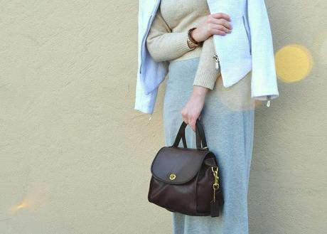 Look of the Day: Winter Neutrals