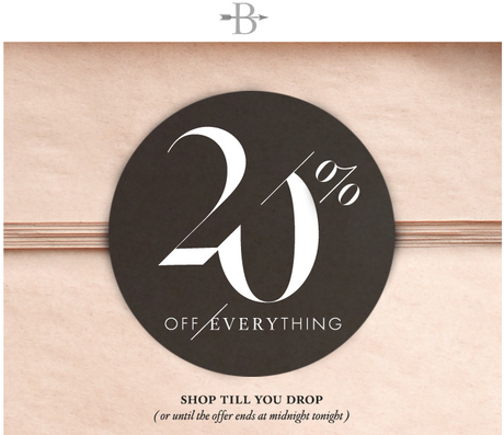 Bhldn coupon code 2018