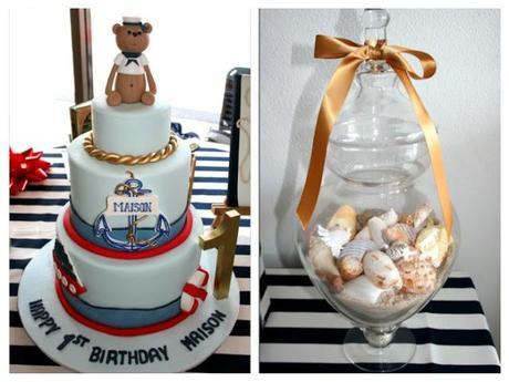 A Nautical Inspired Party by Sweetest Thing - Candy Buffet and Event Styling