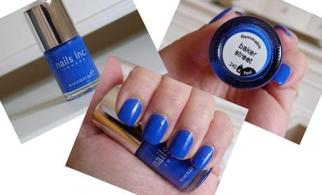 NAILS INC - BAKER STREET BLUE