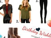 Birthday Missguided Wishlist