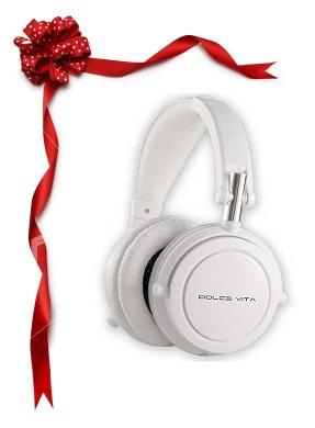 Dolce Vita Headphones - White