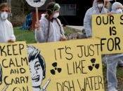 Ohio Resisdents Blockade Radioactive Fracking Waste Well