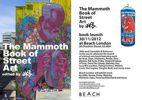 Mammoth Book of Street art Book Launch