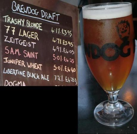 Tasting Notes: Brewdog: Juniper Wheat