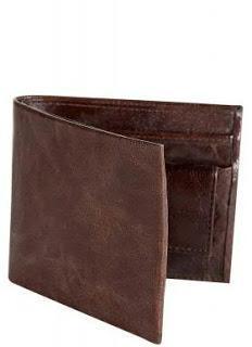 Van Heusen Brown Leather Wallet for Men
