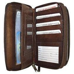 Credit Card/Check Book Pouch or Wallet for Men