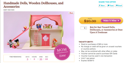 Daily Deal: $25 for $50 at American Apparel, $20 for $40 Wooden Doll Houses, $25 for $50 at Gourmet Gift Baskets, & A Charlie Brown Christmas DVD 40% Off