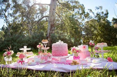 Tutu Tea Party by Sweet Sensation Cakes and Bella in Bloom