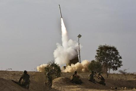Iron Dome Interceptor Successfully Launched