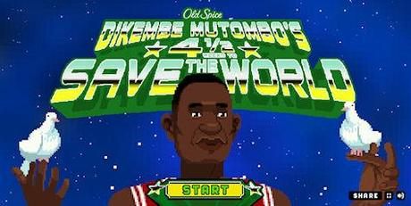 Old Spice Dikembe Mutombo's 4½ Weeks To Save The World