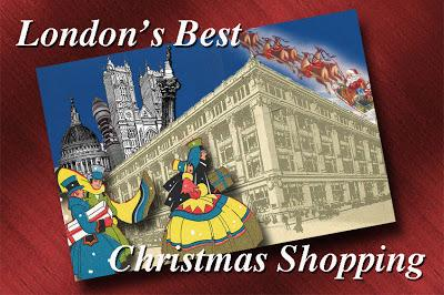 London Christmas Shopping – 25 Days To Go!