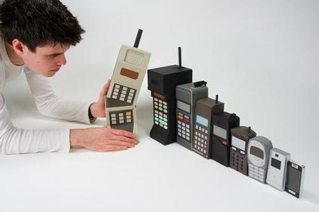 The evolution of mobile phones (Russian Doll style)