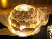 Artichoke Lantern Centerpieces
