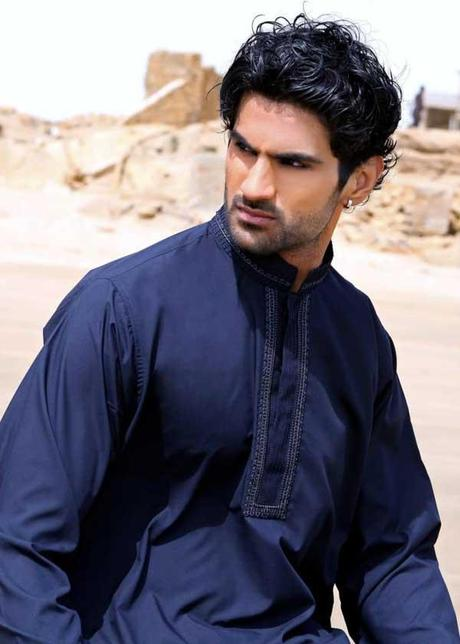 Men Shalwar Kameez Collection for Winter 2012-2013 by Ittehad Textile a Recherché & Imperishable Collection