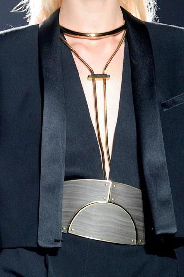 heavy metals necklace2013 Spring Accessories Report