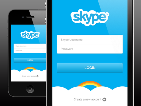 Skype for iOS Updated : Microsoft Account Support Added