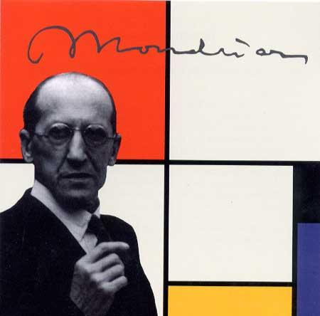 Mondrian, yasoypintor, about abstract art, abstract artists paintings, xavier ribas