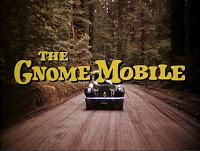 WALT DISNEY PRESENTS THE GNOME-MOBILE