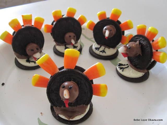 Oreo Turkey Cookies Paperblog