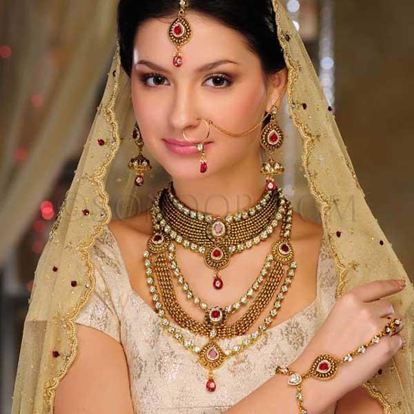 Bridal Jewelry Latest Gold Sets Designs 2013 By Sonoor Jewels An Eminent Lineament Cherished
