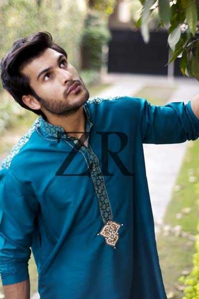 Kurta Designs 2013 for Men by Zayn Rashid a Most Posthumous & Mesmeric Designs for Winter