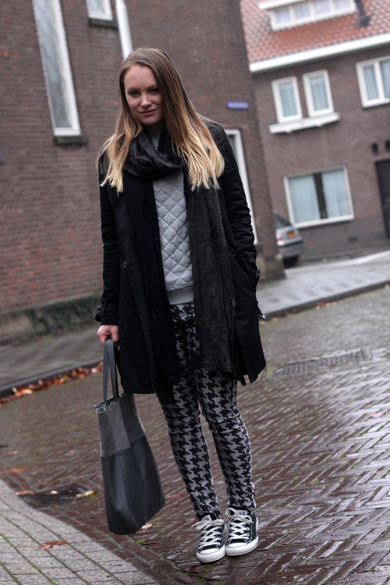 Outfit: Quilted & Dogtooth