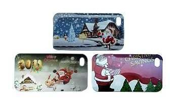 iPhone 4 / 4S Christmas Faceplate Set