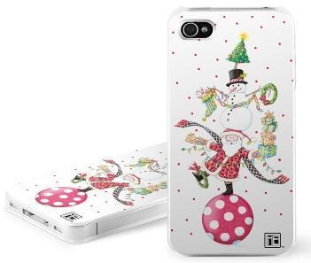 iPhone 4 / 4S DecalGirl Hard Cover - Christmas Circus