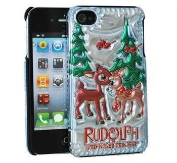 iPhone 4 / 4S Cover - Rudolph under the Christmas Tree