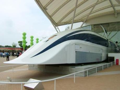 Japan Unveils New High Speed Train: 500 km/h