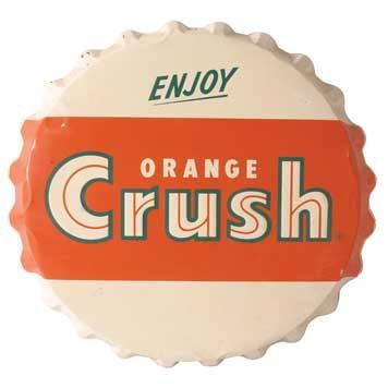 orange crush cap1 DIY Video: FAB Bottle Cap Decor (great gifts!)