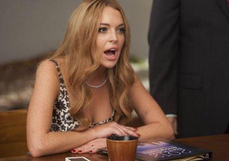 Lindsay Lohan in a scene from Glee. (Fox)