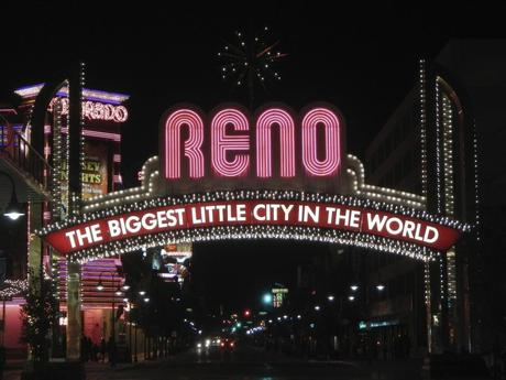 Welcome to Reno Nevada