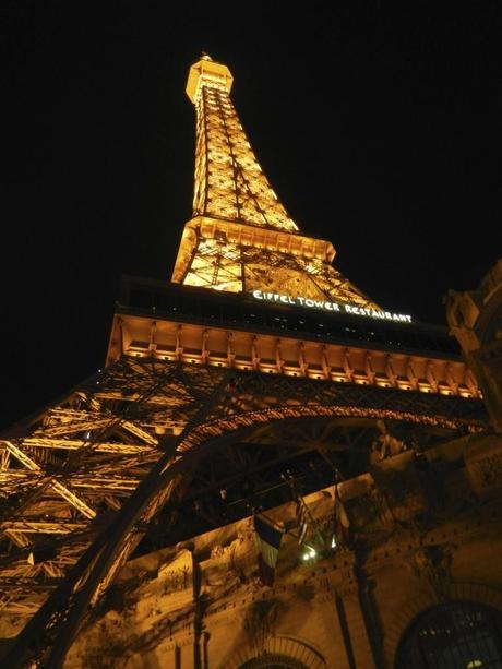 Eiffel Tower at Paris in Las Vegas