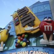 M&M World on the Las Vegas Strip