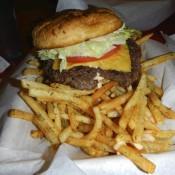 Awful Awful burger at The Nugget Casino and Diner Reno NV