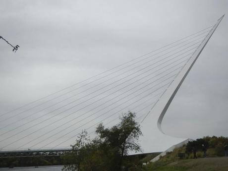 Profile of the Sundial Bridge Redding CA