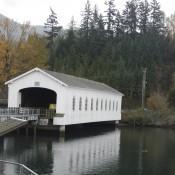 Lowell Covered Bridge Oregon