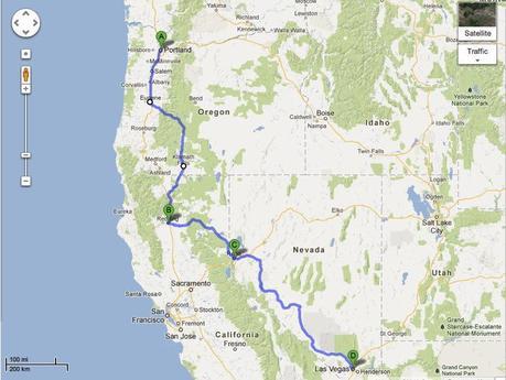 Road Trip Update Rambling and Gambling – Redding to Reno to Las Vegas Baby!