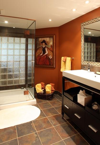 Color Roundup Using Orange In Interior Design Paperblog