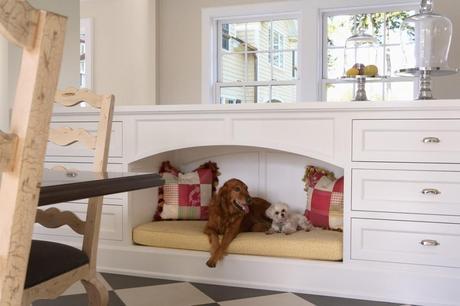 beautiful dog house