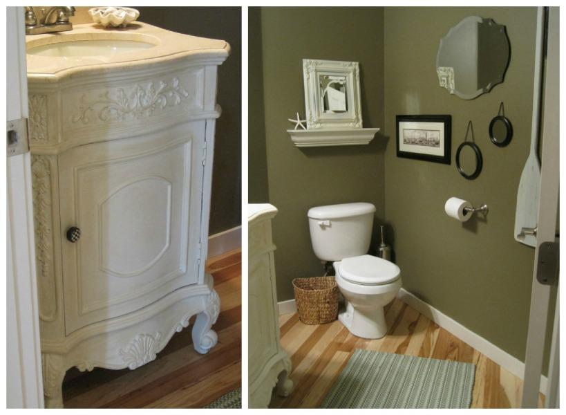 powder rooms great ideas to transform your powder baths for upcoming holidays paperblog. Black Bedroom Furniture Sets. Home Design Ideas