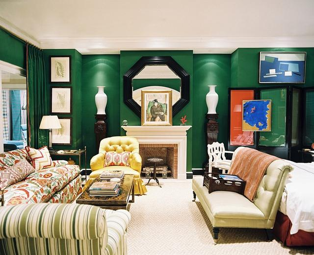 Color Roundup:  Emerald Green