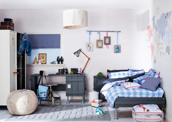 Boy's Bedroom Inspiration - Paperblog