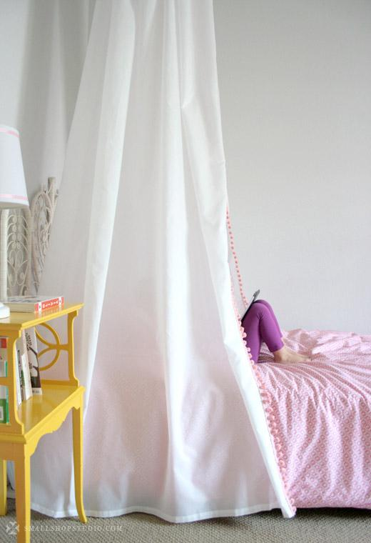 D.I.Y. Bed Tent Canopy